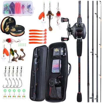 Portable Travel Fishing Combo And Tackle Kit
