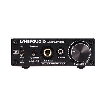 B899 Pre-Stage Stereo Signal Amplifier Booster Headphone Amplifier With Volume Control Dual-Source Input