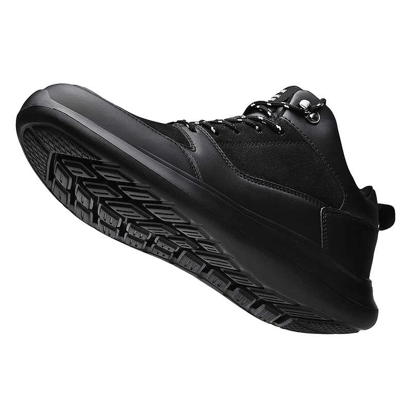 חורף Mens מגפי עור מפוצל אופנה גברים מגפי חם גברים של מגפי בתוספת פרווה שלג מגפי גברים סניקרס נעליים