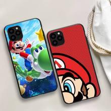 Mario Game Phone Case For iphone 5s 6 7 8 11 12 plus xsmax xr pro mini se Cover Fundas Coque