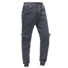 New classic three dimensional bag mens casual loose sports pants