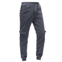 New classic tre dimensionale sacchetto degli uomini casuali dei pantaloni di sport allentati