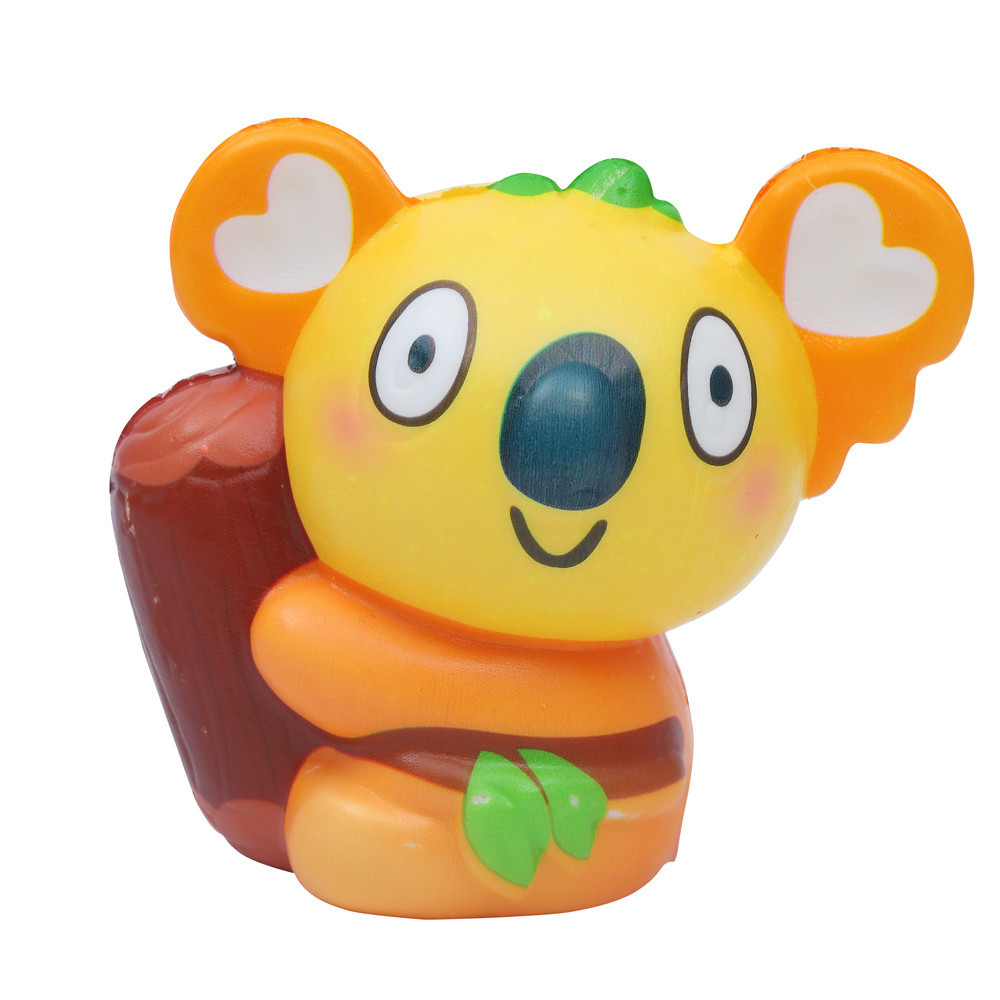 Exquisite Cute Koala Scented Slow Rising Decompression Toys Kawaii Squishy Toy High Qyality More Than 6 Years Old Z0729