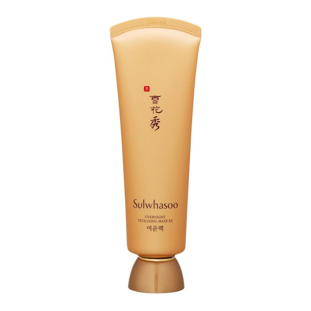 Sulwhasoo Korean Cosmetics Overnight Vitalizing Mask EX 120ml Skincare Soothing Regenerate  Moisturizing Cream