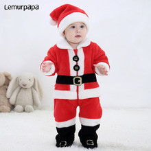 Kid Jumpsuit Christmas-Clothes Boy Romper Newborn Onesie Long-Sleeve Party Infant Baby-Girl