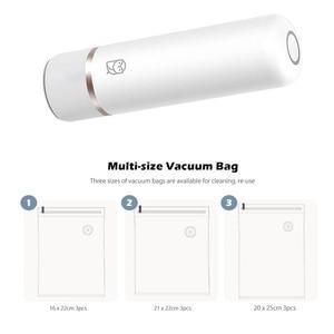Image 5 - Youpin Miaomiaoce Vacuum Rod Intelligent One button Vacuum Sealer Packaging Machine Vacuum Packer Food Moisture proof