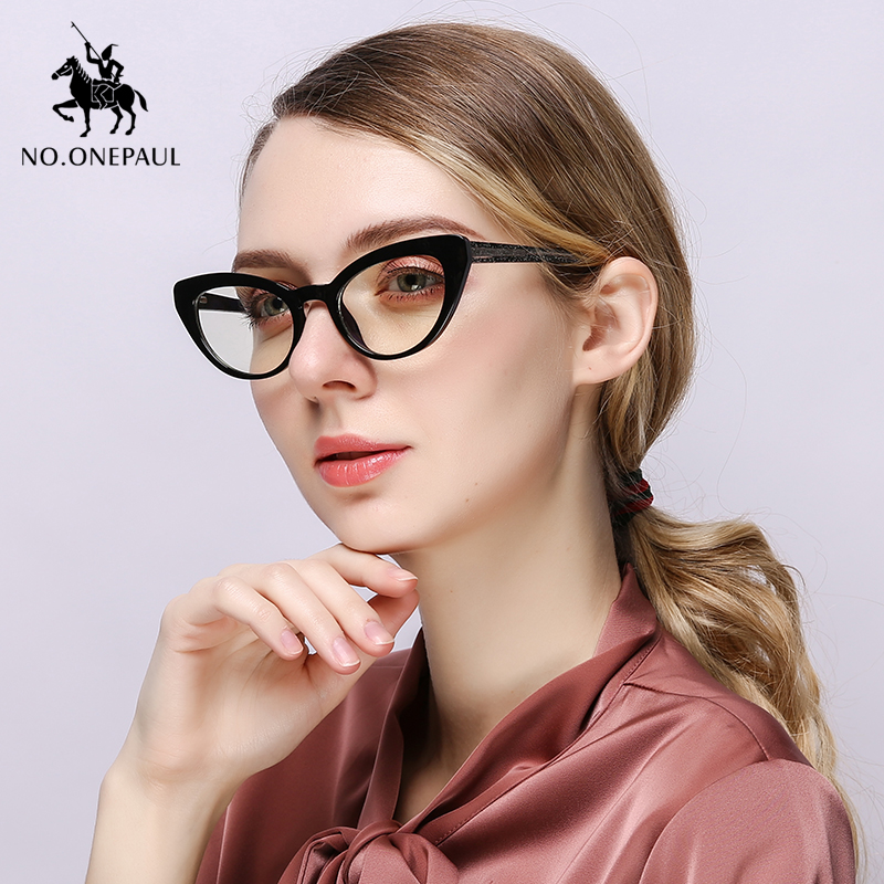 NO.ONEPAUL Vintage Round Clear Women Transparent Lens Glasses Ladies Optical Eyeglasses Frame Square Frames Women Trending