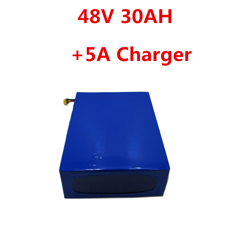 48V 30AH 2000W 1500W Electric motorcycle Battery electric tricycle battery Electric Scooter With 5A Charger 50A BMS