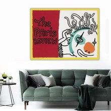 Holover soyut Graffiti tuval yağlıboya Keith Haring