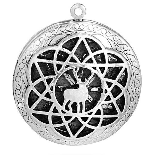 Фото 10 шт/лот подвеска медальон для ожерелья и браслета 25 мм