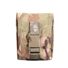 MOLLE Single/Dual Grenade Pouch Airsoft Paintball Combat Gear Storage B