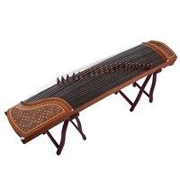 Guzheng 21-stringed المبتدئين الكبار الأطفال الأولي المحمولة فحص درجة احترافية أداء Guzheng الصغيرة WS201803