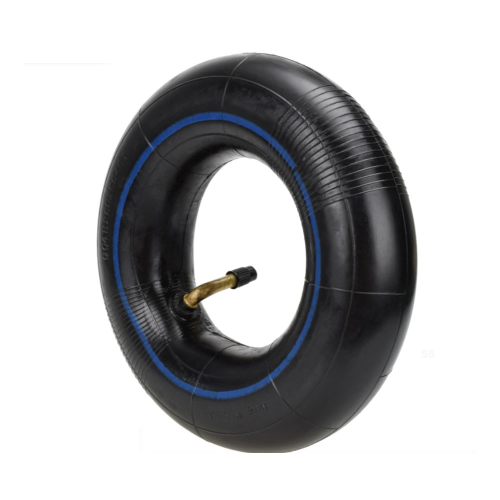 <font><b>2.80/2.50</b></font>-<font><b>4</b></font> 2.80-<font><b>4</b></font> 2.50-<font><b>4</b></font> Tire Inner Tube for Hand Trucks Utility Cart Lawn Mowers Wheelbarrows Dollys Scooters TR87 Bent Valve image