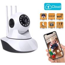 1080P nowy niania elektroniczna Baby monitor HD bezprzewodowy inteligentny audio cctv kamera do domowego systemu alarmowego wideo kamery ip sieci nadzoru aparat dla dzieci WiFi