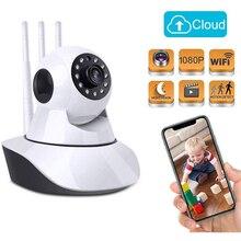 1080P yeni bebek izleme monitörü HD kablosuz akıllı ses güvenlik kamerası ev güvenlik Video IP kameralar ağ gözetim bebek kamerası WiFi