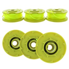 3pcs/set Home Tool Ryobi AC80RL3 Premium Twisted Trimmer Line Spool 080