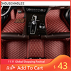 zhoushenglee Custom car floor mats for BMW all model 535 530 X3 X1 X4 X5 X6 Z4 525 520 f30 f10 e46 e90 e60 e39 e84 e83 car style