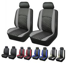 купить Luxury Auto PU Leather Universal Car Seat Cover Automotive Seat Covers For Toyota Lada Kalina Ggranta Priora Renault Logan по цене 1806.74 рублей