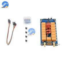 MINI 0.96 inch OLED ATU 100 automatic antenna tuner 100W ATU 100 MINI 7x7 Antenna Auto Tuner automatic weather adjustment
