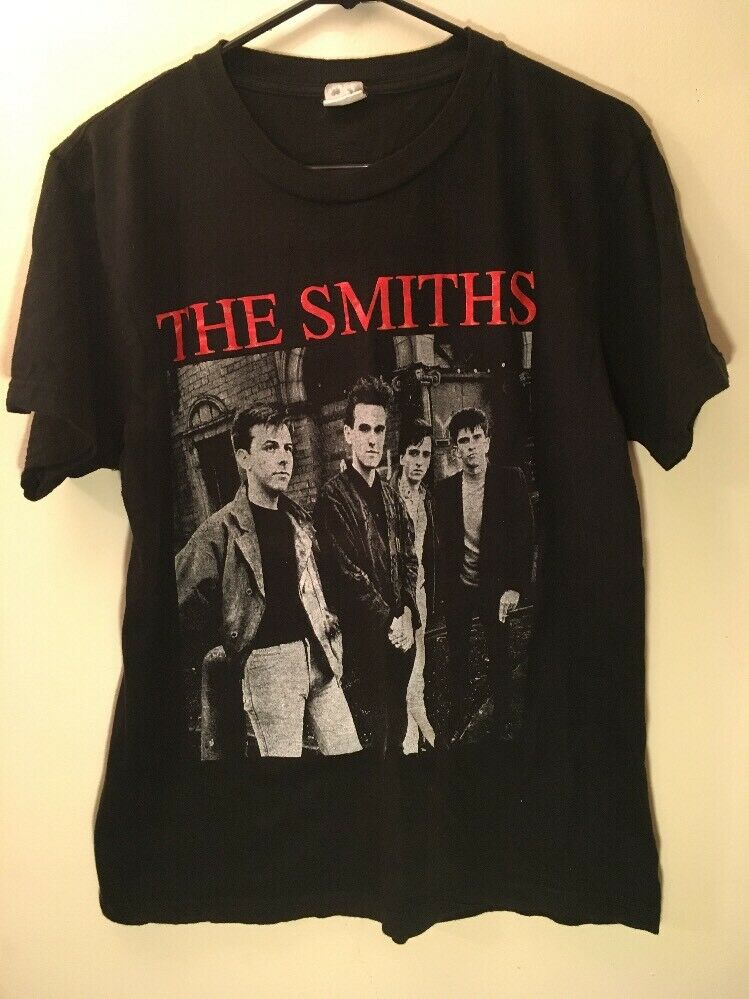 VTG The Smiths Band Shirt Morrissey The Cure Rock Meat Is Murder Punk Paper Thin