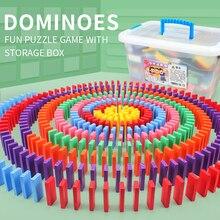200/300Pcs בלוקים דומינו עץ צעצוע מדרה משחק אבני בניין מוקדם חינוכיים ילדי דומינו עץ צעצוע