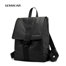 2018 new casual computer bag unisex business travel backpack work bag student bag Black oxford cloth laptop bags new unisex oxford cloth backpack casual travel student backpack tote shoulder bag large capacity computer bag xz 205