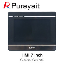 Kinco GL070 GL070E HMI Touch Screen 7 inch 800x480 Ethernet 1 USB Host new Human Machine Interface upgrade MT4434TE MT4434T
