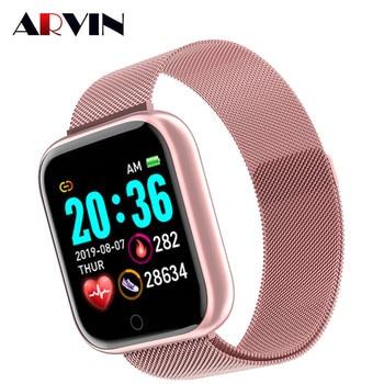 Arvin montre intelligente 2020 fréquence cardiaque Fitness Sport Smartwatch hommes femmes dames Whatsapp pour IOS Android 1