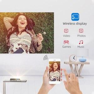 Image 2 - 2020 חדש BYINTEK P10 חכם אנדרואיד Wifi מיני כיס נייד מלא HD LED מקרן עבור Smartphone קולנוע ביתי 1080P מקסימום 4K