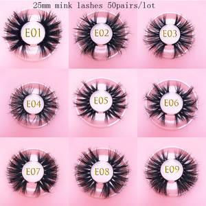 Mikiwi Handmade Lashes Packing-Label Makeup MINK Dramatic Custom Long-Fluffy Wholesale