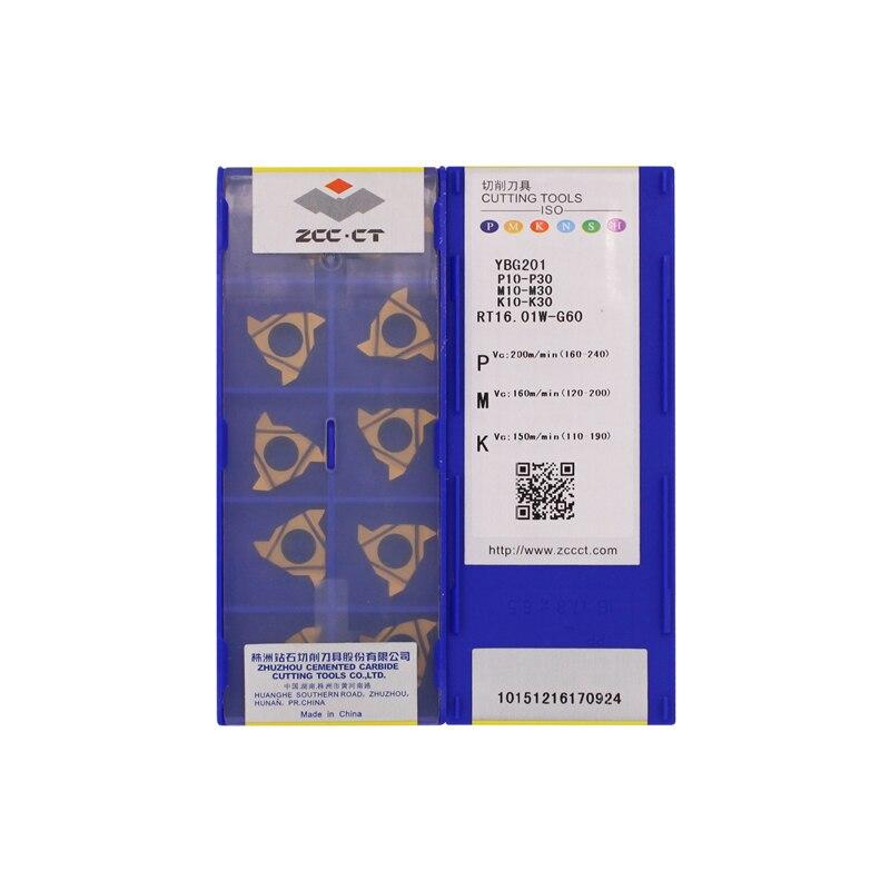 10PCS LT16.01W-G60P YBG201 lathe turning tool carbide inserts High efficiency