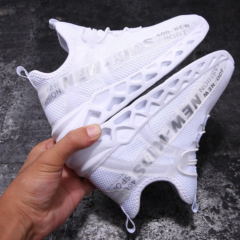 Dzieci oddychające sneakersy do biegania lekkie dziecięce buty antypoślizgowe przypadkowi buty dla chłopców Walking Sport dziewczyny Sneakers Zapatillas