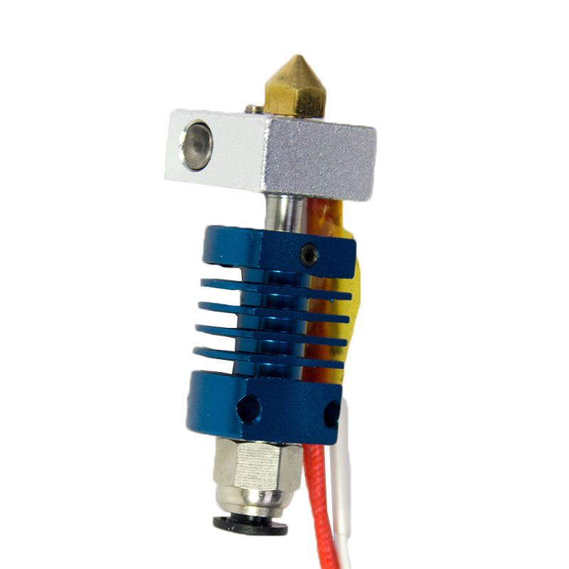 3D Printer Nozzle Set With Copper Mouth For LK1 LK2 Alfawise U20 U30 3D Printer Part High Quality 0.4mm 3D Drucker Nozzle