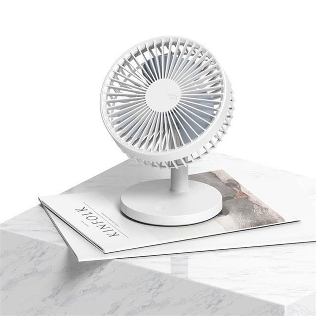 Mini Mute Design Fan Portable Desktop Air Cooler Student Dorm Fan Office Desktop Mini Fan Household Electrical Appliances Appliances