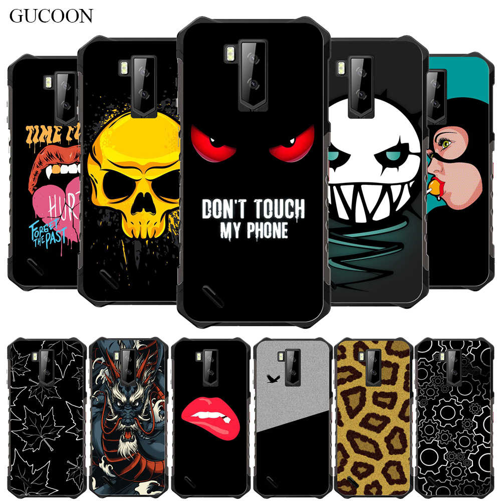 Gucoon Silicone Cover untuk Ulefone Armor X5 5.5Inch Case Pelindung Lembut Tpu Telepon Kembali Casing Bumper Shell