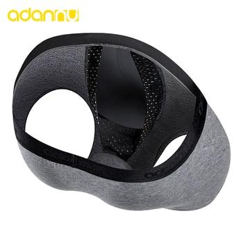 ADANNU, фирменные, раздельные, мужские боксеры, хлопок, мужское нижнее белье, мужские штаны, дышащие, удобные, под брюки, дышащие, u-образные, AD322