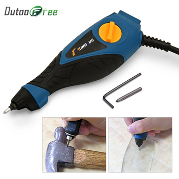 цена на Dutoofree Electric Engraver Engraving Tools Mark Pen For Metal Wood PVC Plastic Electric Engraving Pen Tool Electric Engraver