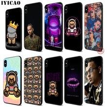 IYICAO Ozuna Soft Black Silicone Case for iPhone 11 Pro Xr Xs Max X or 10 8 7 6 6S Plus 5 5S SE ozuna bogota
