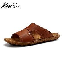 Katesen/Новинка 2021 года; Летние мужские сандалии; Модные удобные
