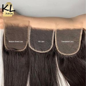 Image 5 - KL 5x5 גוף גל HD סגירת תחרה ברזילאי רמי שקוף תחרה סגר עם תינוק שיער עור להמיס בלתי נראה שיער טבעי סגירה