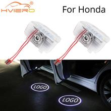 2X Welcome Light for Honda Odyssey Cr-z Nine-generation Accord Elyon Door Projection Lamp Car Led Neon Lights