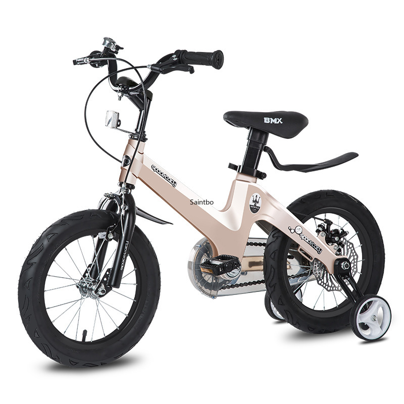 Kids Bike 2-12 Year-Old Children Bike Stroller Boys And Girls Bike With Training Wheels  Magnesium Alloy Kids Bicycles
