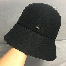 Классическая черная утепленная шапка уличная одежда круглое ведро Зимняя шляпа Женская флоппи фетровая шляпа 1920s Fedora Рыбалка охотничья шляпа солнце
