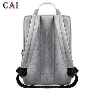 Image 4 - 2019 New Fashion Slim Laptop Waterproof 14 inch Laptop Backpack Women/Men Backpacks Travel Backpack bag men mini bookbag mochila
