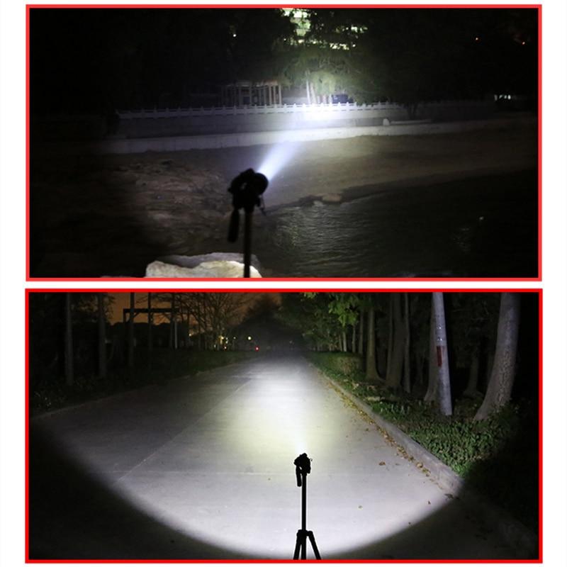 SupFire LED Flashlight Linterna High Power Torch Police Light T10 Tactical 18650 Flashlight XML T6 900LM Camping Hiking Light in LED Flashlights from Lights Lighting