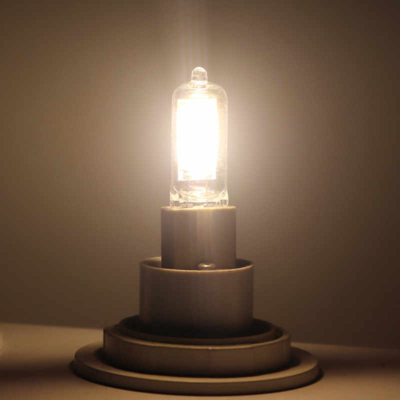G9 LED مصباح COB LED لمبة 9 واط 12 واط 15WAC220V LED مصباح COB عكس الضوء 360 شعاع زاوية الثريا ضوء استبدال مصابيح Haloge g9
