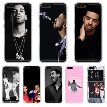 Rapper Aubrey Drake Graham Phone Case hull For HUAWEI honor mate 8 9 10 20 30 A S X i pro lite transparent hoesjes pretty Etui image