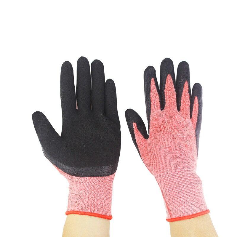 1pcs Nitrile Gardening Rubber Gloves Waterproof And Wear-resistant Flower Arrangement Gloves Drop Ship Garden Tools