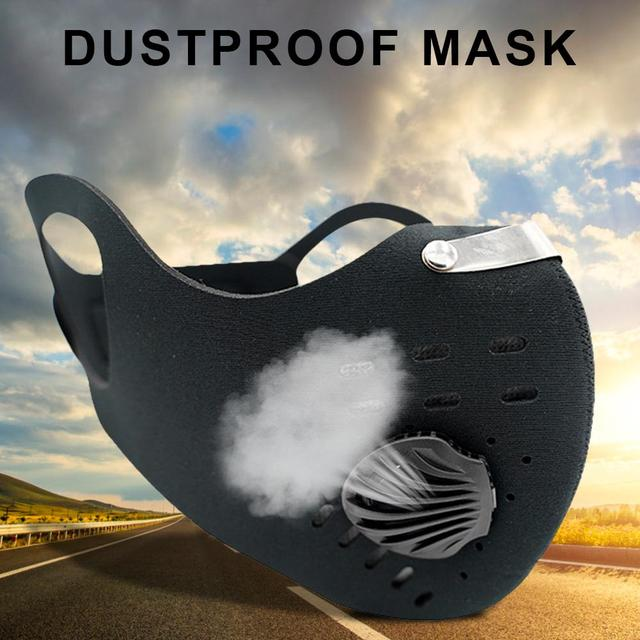 Anti Dust Mask For Mouth Pm2.5 Dust Respirator Wholesale Breath Anti Odor Pollution Running Sports Maska Anti Allergy Flu 4