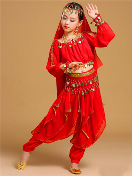New Children Indian  Belly Dance Performance Dress